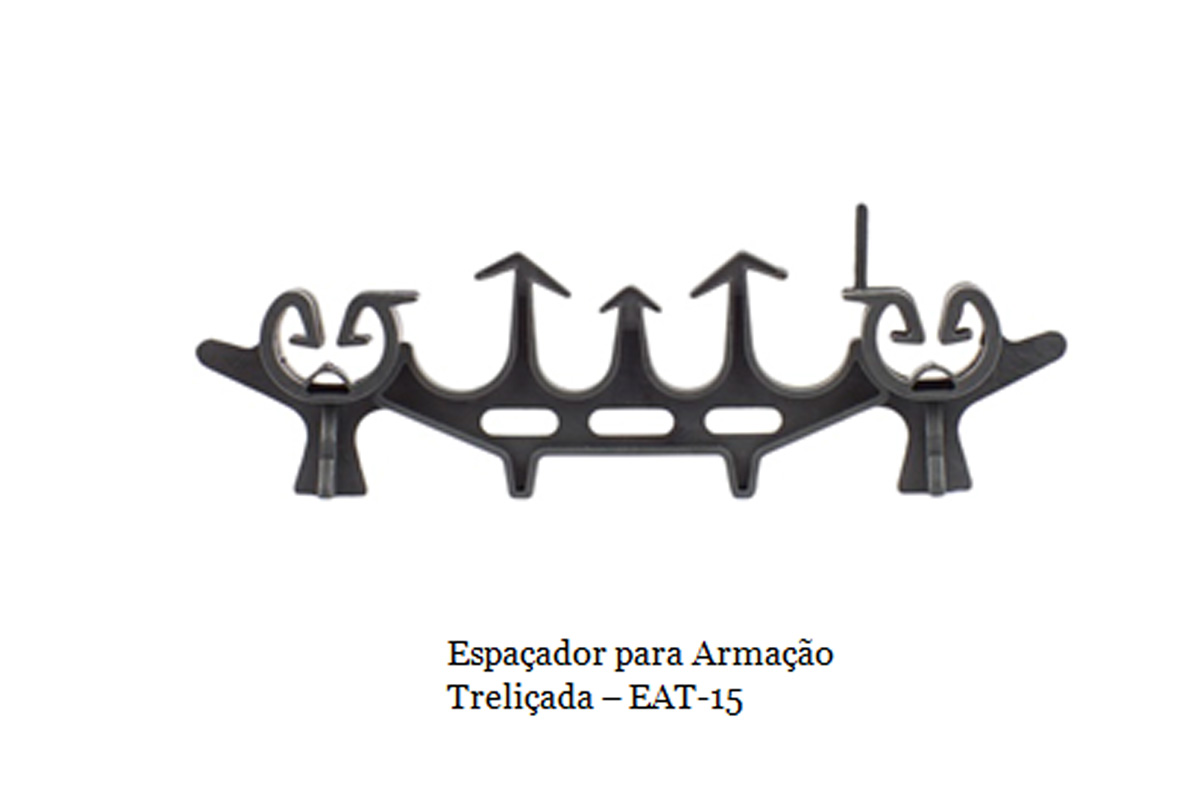 EAT-15 – Espaçador Para Armação Treliçada
